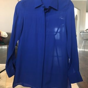 Cobalt Button Down Shirt